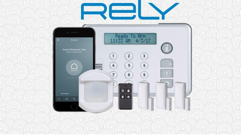 2GIG Rely Home Security Kit Banner