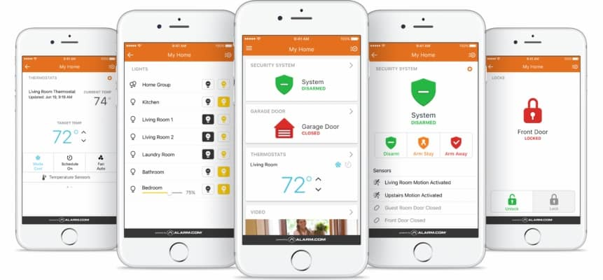 Alarm.com Interactive Services