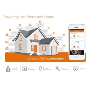 Affordable Alarm.com No Contract Home Security Alarm Monitoring