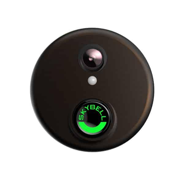 ALARM COM VDB102 Skybell WIFI Doorbell Camera (Bronze)
