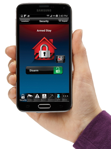 AlarmNet TC2 Interactive app