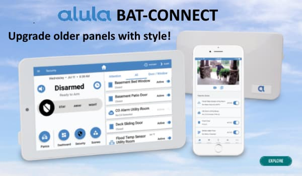 Alula BAT-CONNECT Upgrade Communicator