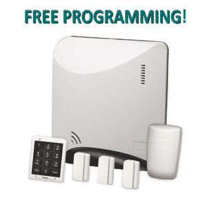 Alula Helix REHXK-311A Wireless Home Security Kit