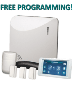 Alula Helix REHXK-311C Wireless Home Security Kit - White