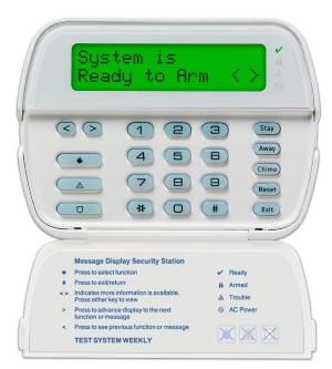 DSC PK5500 Series Keypad