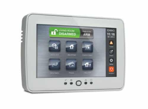 DSC PTK5507 Touchscreen Keypad