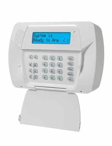 DSC SCW457 wireless control panel