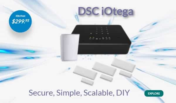 DSC iOtega Wireless Alarm System Easy and Fast Install