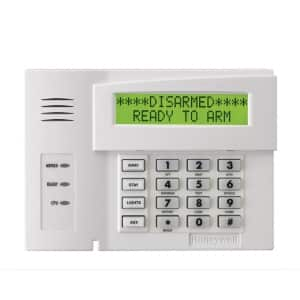 Honeywell 6160RF Keypad For Vista Series Hardwired Alarm Systems
