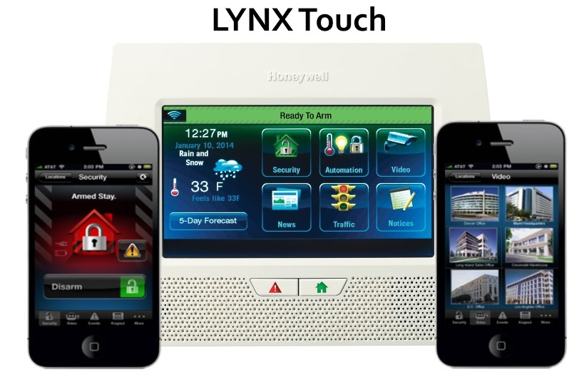 Honeywell Lynx Touch Wireless Home Security System