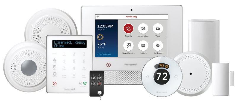 Honeywell Lyric Home Security Family of Products