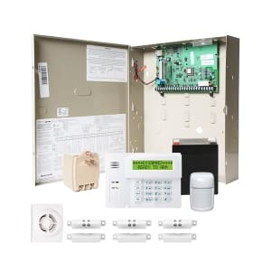 Honeywell Vista 21IP Home Security Kit W/ Control, 6160 Keypad, Motion,  Siren, Mag Contacts, Battery