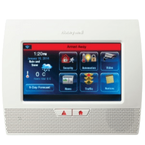 Honeywell LYNX Touch Wireless Home Security Alarm System - L7000