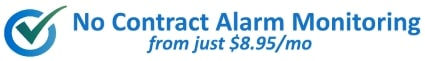 No Contract Alarm Monitoring from Just $8.95
