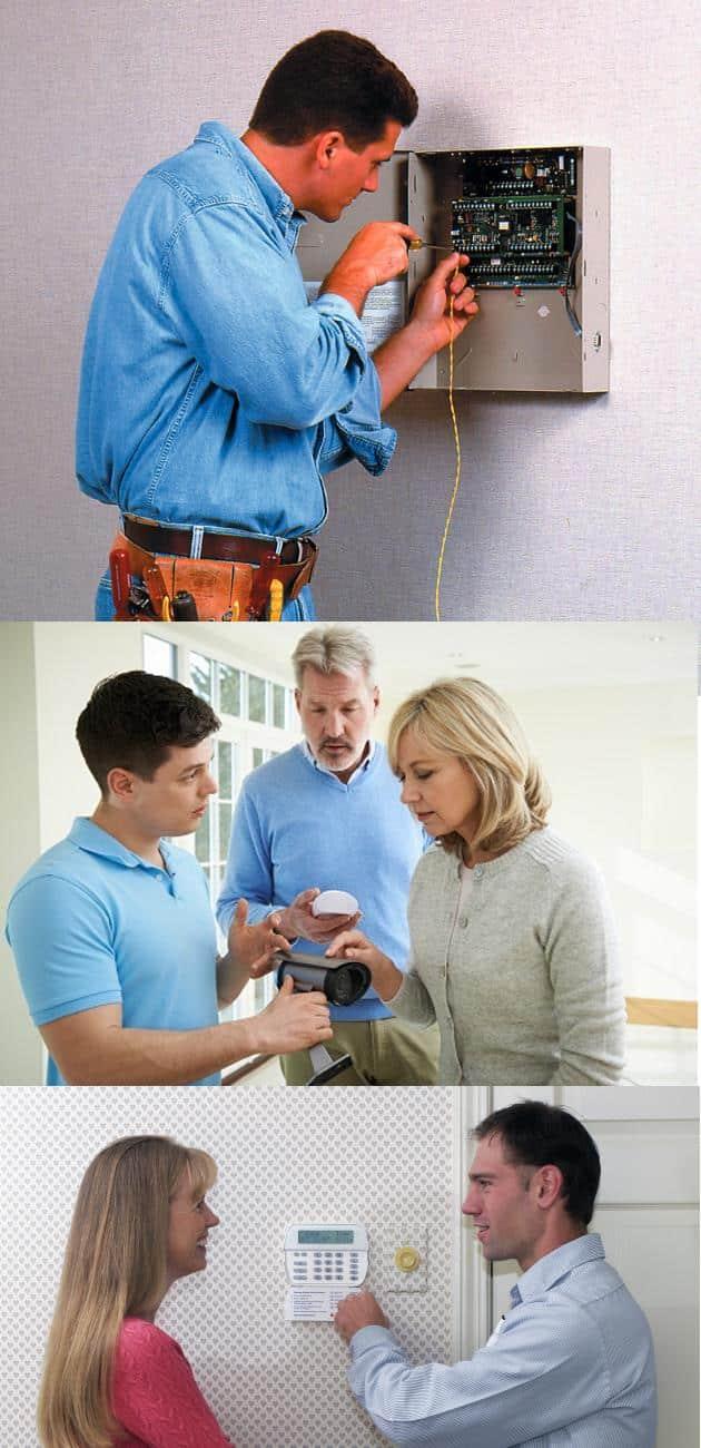 SafeHomeCentral Professional Installation