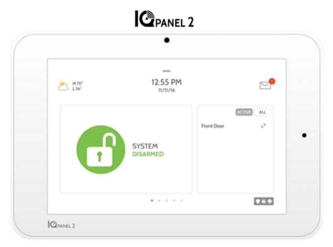 Qolsys IQ Panel 2 Wireless Security System
