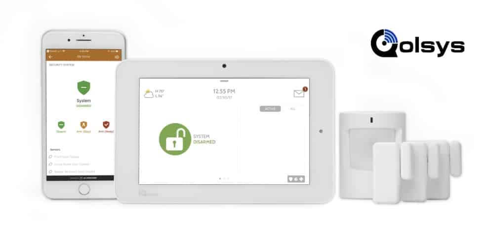 Qolsys IQ Panel 2+ Wireless Home Security System 1