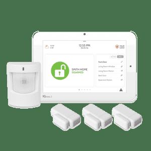 Qolsys IQpanel2 wireless security alarm kit with verizon cellular
