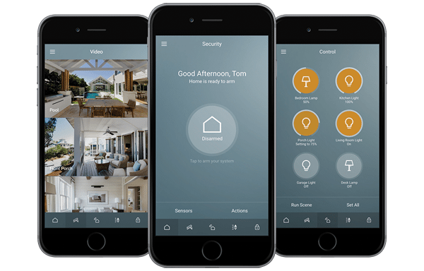 Modern Connected Home Alarm Systems