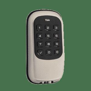 Yale Z-Wave Key Free Touchscreen Deadbolt - Sarin Nickel