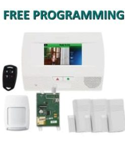 Honeywell L5210 Lynx Touch Home Security Kit