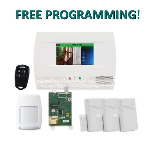 Safehomecentral fast easy trusted diy wireless home security honeywell l5210 lynx touch home security kit solutioingenieria Image collections