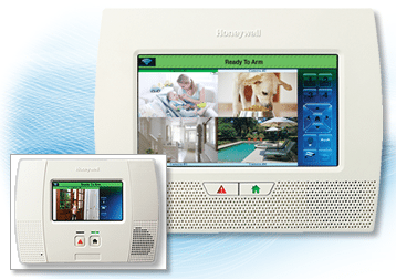 Honeywell LYNX Touch Wireless Home Security Alarm System - video viewing